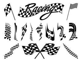 Ai (adobe illustrator) eps (encapsulated postscript). Racing flag free vector graphic art free download (found ...