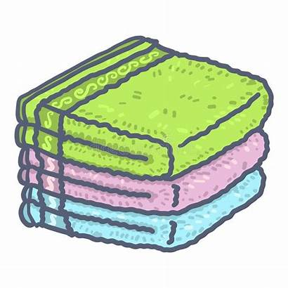 Towel Stack Icon Drawn