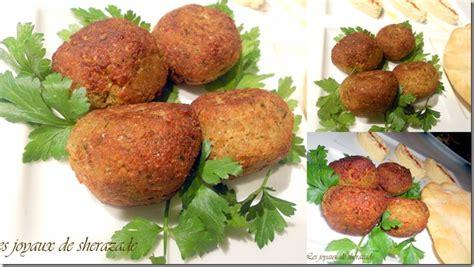 cuisine libanaise falafel recette falafels facile