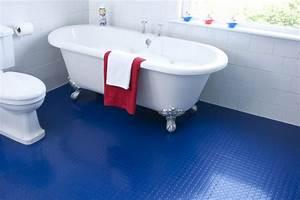 Light blue vinyl floor tiles tile designs for Blue sky bathroom tile floor decoration
