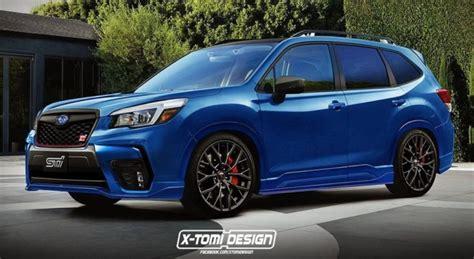 Subaru Wrx Sti 2020 Japan by 2020 Subaru Forester Sti Might Be On The Cards
