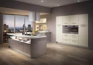 modele de cuisine moderne avec ilot central