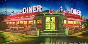 American Diner Wallpaper : american diner backdrops fantastic australia ~ Orissabook.com Haus und Dekorationen