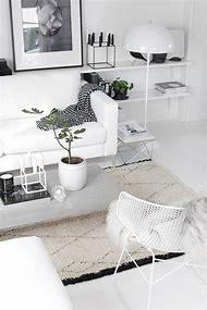 Living Room White Interior