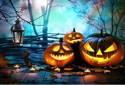 Halloween Pumpkin Theme Backdrop Lamp Ha