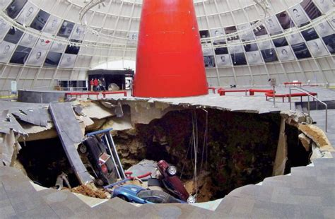 corvette museum sinkhole images sinkhole studied with xylem technology impeller