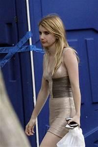 Emma Roberts and Evan Peters Film 'American Horror Story ...