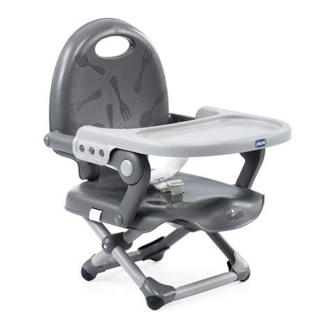 rehausseur de chaise chicco chicco réhausseur de chaise pocket snack grey 2018