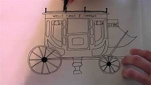 How To Draw A Stage Coach - Part 2 Of 3