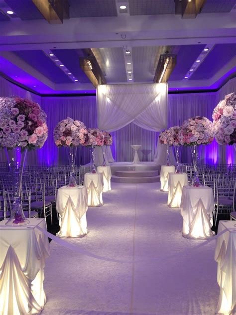 Beautiful Aisle Platinum And Plum Just Gorgeous The