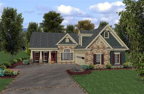 craftsman country house plans country craftsman house plan 92380