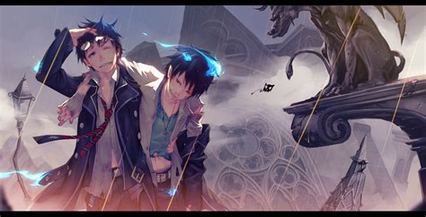 Ao no Exorcist (Blue Exorcist) Wallpaper Zerochan Anime
