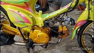 Full Perjalanan Honda Astrea Legenda Modif C70 Airbrush