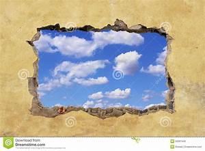 Loch In Der Wand : loch in der wand stockfoto bild 50337440 ~ Lizthompson.info Haus und Dekorationen