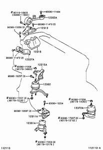 Toyota Camry Insulator  Engine Mounting  Front  Engine