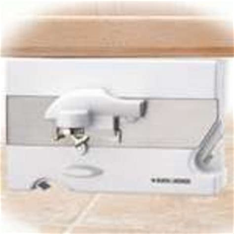Cupboard Can Opener by Black Decker Spacemaker Can Opener Co85 Co100b Reviews