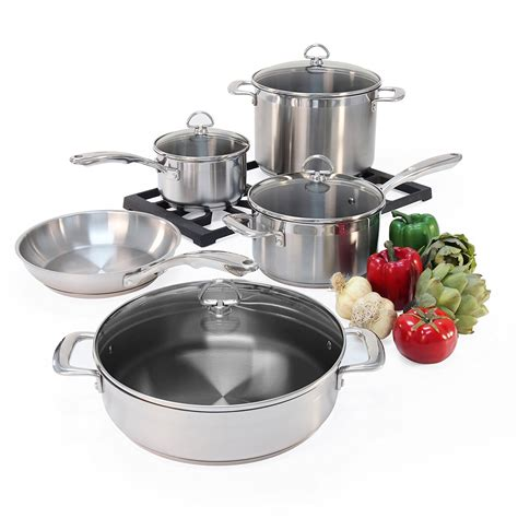 titanium stainless steel cookware  reviews