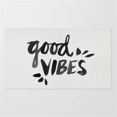 Vibes Ink Cat Rug Society6 Coquillette