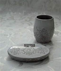 Tahari bath accessories house stuff pinterest for Tahari bathroom accessories