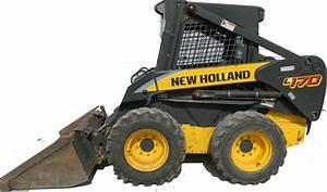 New Holland L140  L150  L160  L170 Skid Steer Loader