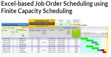 excel production schedule templates trainingable