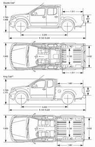 Nissan Navara 2005 Blueprint