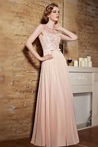 Robe De Mariée Champagne : robe soir e rose champagne buste en dentelle exquise col perl ~ Preciouscoupons.com Idées de Décoration