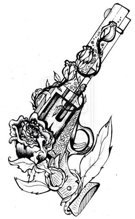 My thigh piece. Ill be getting someday soon. | Gun tattoo