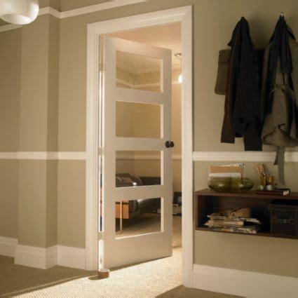 Living Room Doors At B Q by Shaker White 4 Panel Shaker Partially Glazed Door