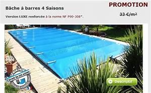 Bache Piscine Pas Cher : le site de la bache piscine barre ~ Dailycaller-alerts.com Idées de Décoration