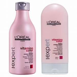 L'Oreal Professionnel Vitamino Color Shampoo and
