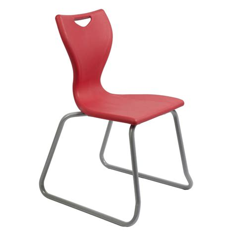 Chairs For Classrooms by Remploy En10 Skid Base Classroom Chair