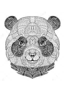 kids  funde  ausmalbilder von panda