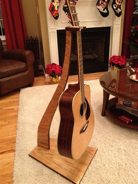 plans  wooden guitar stand blueprints  diy    build wood
