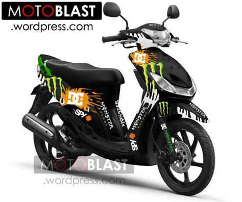 Modif Mio Sporty Ala Thailand by Modif Mio Sporty Ala Energy Dc Terbaru Sobekkk