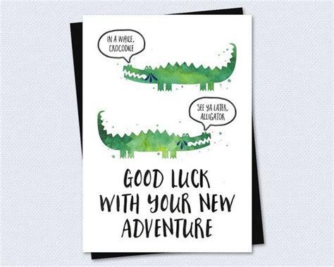 farewell card goodbye card good luck