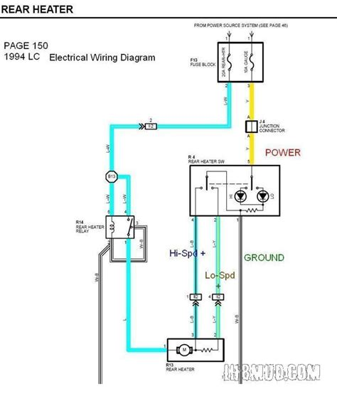Wiring Diagram Heater by Wiring Viii Electric Fan With Rear Heater Switch