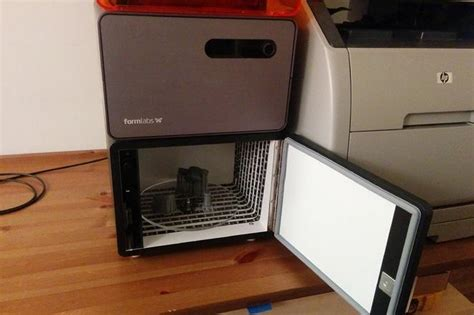 diy uv post curing lightbox ensures sla prints