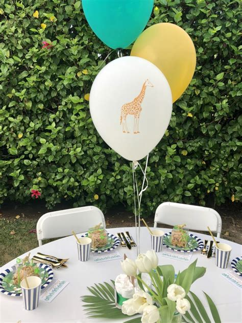 safari chic baby shower project nursery