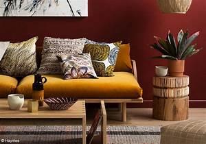 Décoration Salon Jaune Moutarde : osons la couleur dans le salon elle d coration ~ Melissatoandfro.com Idées de Décoration