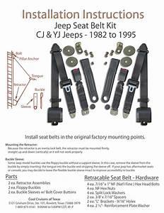 Jeep Seat Belts