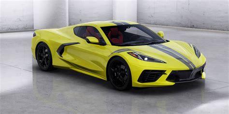 chevy corvette  colors trims options  features