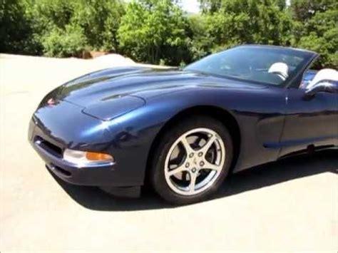 chevy corvette  convertible  sale youtube