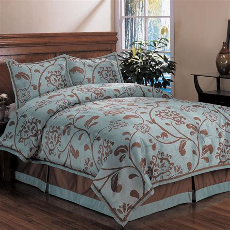 bella floral king size 4 piece comforter set 13191621