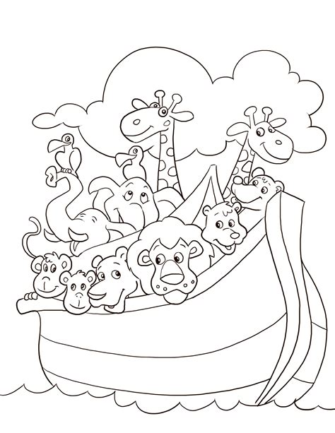 bible coloring page noah s ark coloring page coloring pages