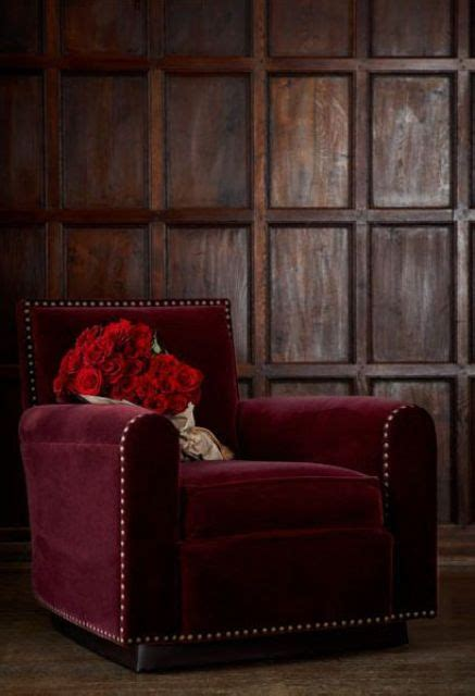 beautiful burgundy accents  fall home decor digsdigs