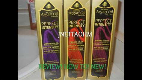 Another One 'n Only Argan Oil Perfect Intensity Review