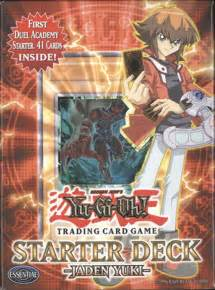 yu gi oh gx cards starter deck duel academy jaden yuki new