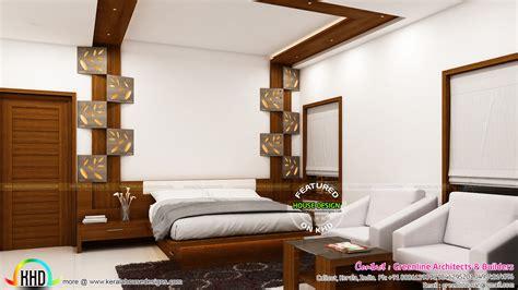interior designs  master bedroom kerala home design