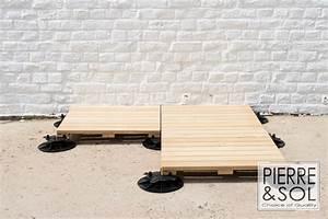 Terrasse En Caillebotis : terrasse caillebotis sur plots id es de ~ Premium-room.com Idées de Décoration